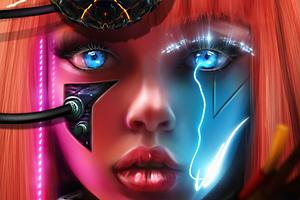 Eyes Formation Scifi Wallpaper
