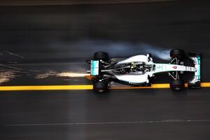F1 Car On Track