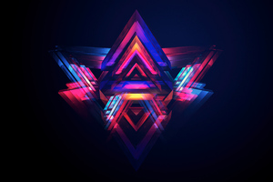 Facets Of Abstract 5k Wallpaper