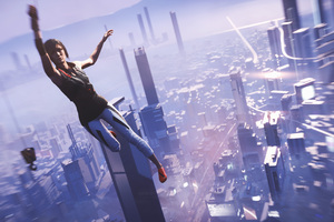 Faith Connors Mirrors Edge Catalyst 5k Wallpaper