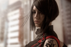 Faith Connors Mirrors Edge Catalyst Cosplay Wallpaper