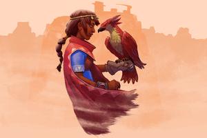 Falcon Age 8k Wallpaper