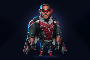 Falcon Avengers Minimal 8k Wallpaper