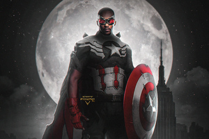 Falcon The New Captain America