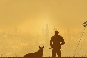 Fallout 4 Minimalist Wallpaper