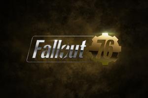 Fallout 76 Game Logo 4k