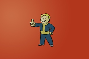 Fallout Boy Minimalism Wallpaper