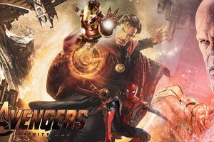 Fan Avengers Infinity War Poster 4k Wallpaper
