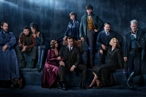 Fantastic Beasts The Crimes Of Grindelwald 2018 Cast Wallpaper