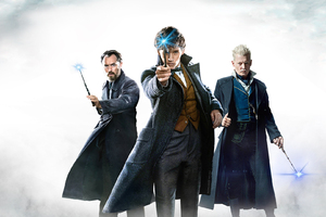 Fantastic Beasts The Crimes Of Grindelwald Movie Wallpaper