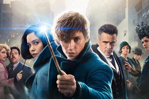 Fantastic Beasts The Crimes Of Grindelwald Movie Poster Wallpaper