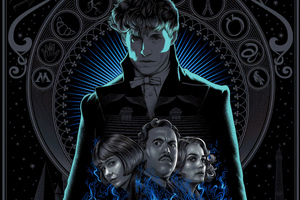 Fantastic Beasts The Crimes Of Grindlewald 5k Poster 2018