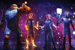 Fantastic Four 2018 5k