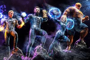 Fantastic Four 4k Wallpaper