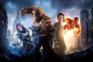 Fantastic Four Poster Wallpaper