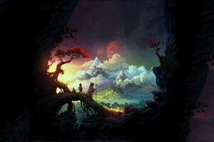 Fantasy Art Colorful Wallpaper