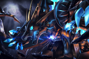 Fantasy Dragon Mecha