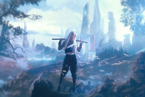 Fantasy Island Utopia Enchanced Floria Wallpaper