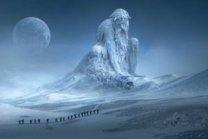 Fantasy Landscape Mountains