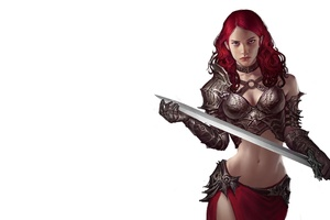 Fantasy Warrior Woman 4k Wallpaper