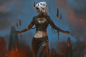 Fantasy Witch Women 4k