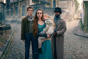 Fantine As Lily Collins In Les Miserables