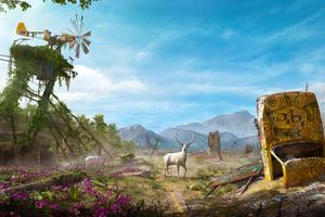 Far Cry New Dawn Key Art 5k