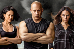 Fast And Furious 9 The Fast Saga 2021 Wallpaper