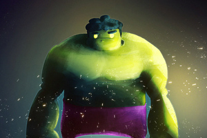 Fat Hulk Wallpaper