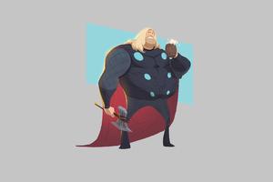 Fat Thor Wallpaper