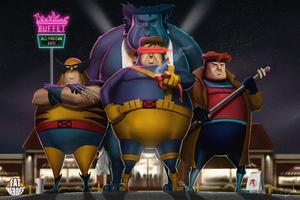 Fat Xmen Team