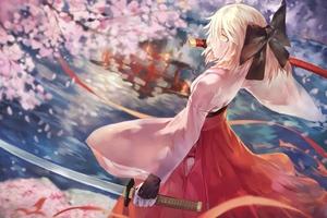 Fate Grand Order Sakura Saber
