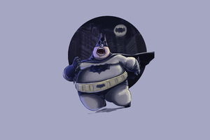 Fatty Funny Batman