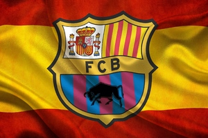 Fc Barcelona Flag Wallpaper