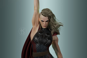 Female Thor Wallpaper