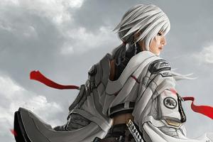 Female Warrior 5k Wallpaper