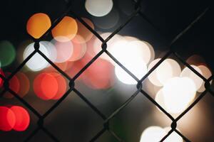Fence Blur 5k