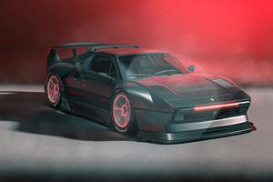 Ferrari 308 GTS The Reaper Wallpaper