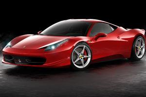 Ferrari 458 Italia CGI