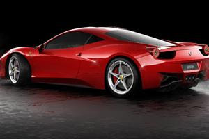 Ferrari 458 Italia Rear CGI