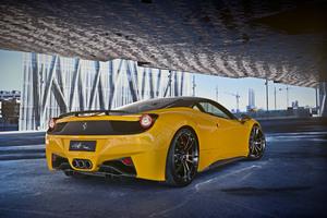 Ferrari 458 Italia Yellow 2018 Wallpaper