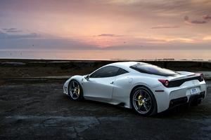 Ferrari 458 White