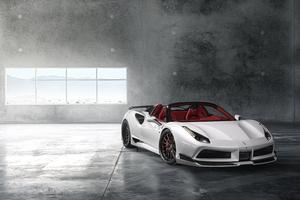 Ferrari 488 8k 2018 Wallpaper