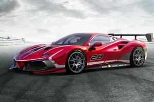 Ferrari 488 Challenge Evo 2020 5k