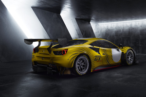 Ferrari 488 GT Modificata 2021 Rear 10k Wallpaper