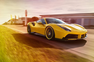 Ferrari 488 GTB By Novitec Rosso Wallpaper