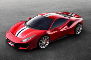 Ferrari 488 Pista 2018 Side View