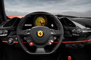 Ferrari 488 Pista Front Panel 2018