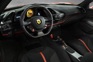 Ferrari 488 Pista Interior 4k