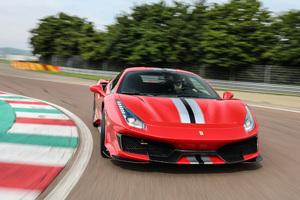 Ferrari 488 Pista On Track 4k